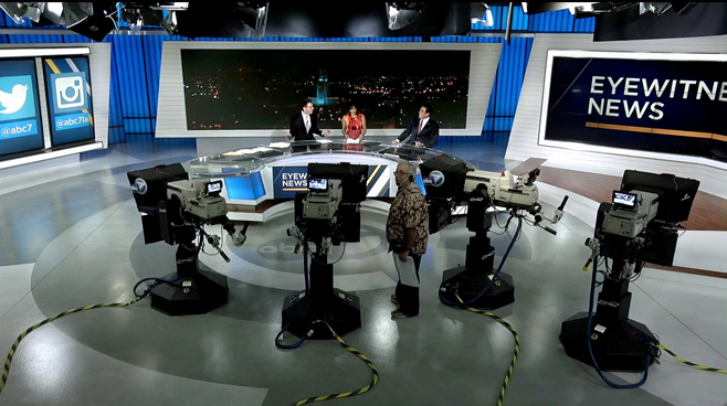 KABC - Los Angeles - News Sets Set Design - 1