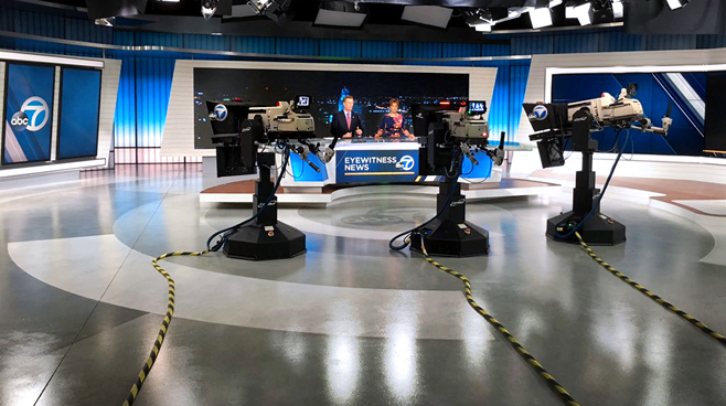 KABC - Los Angeles - News Sets Set Design - 9