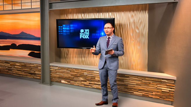 KCPQ - Seattle, WA - News Sets Set Design - 11