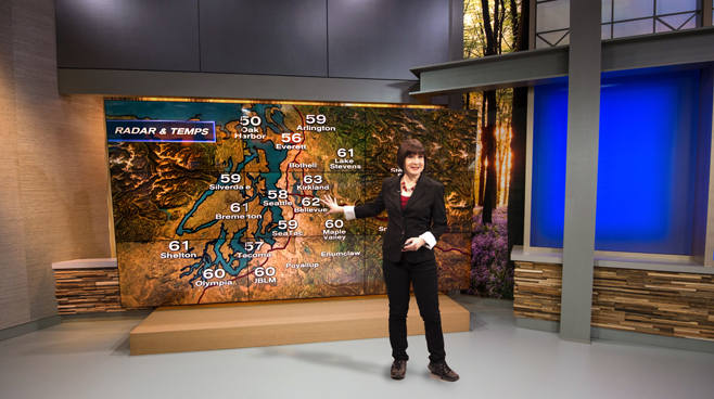 KCPQ - Seattle, WA - News Sets Set Design - 4