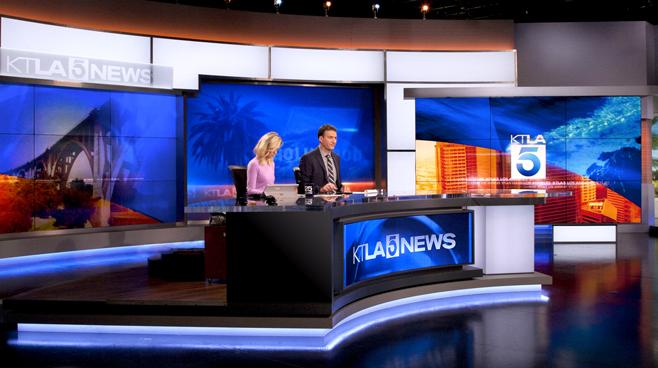 KTLA - Los Angeles, CA - News Sets Set Design - 10