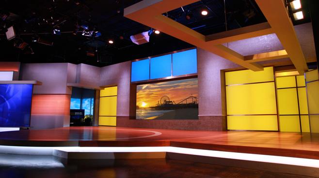 KTLA - Los Angeles, CA - News Sets Set Design - 12