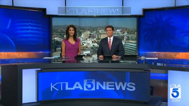 KTLA - Los Angeles, CA - News Sets Set Design - 3
