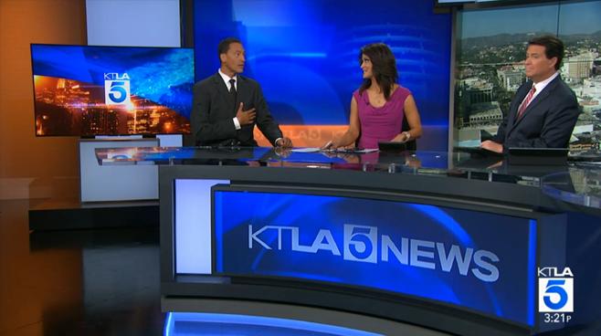 KTLA - Los Angeles, CA - News Sets Set Design - 4