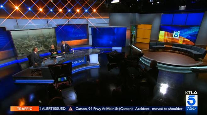 KTLA - Los Angeles, CA - News Sets Set Design - 5