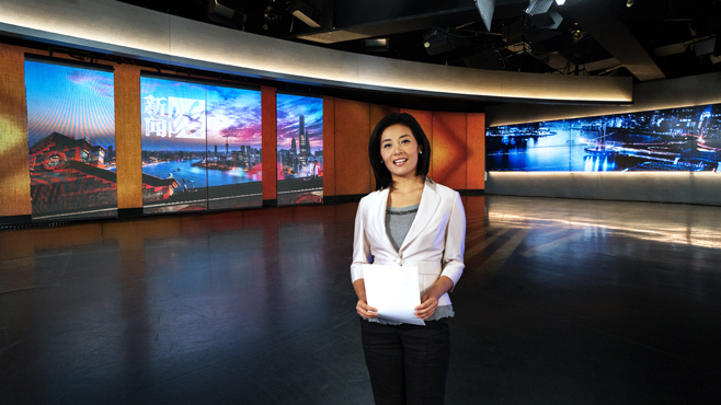 SMG-STV - Shanghai, China - News Sets Set Design - 12
