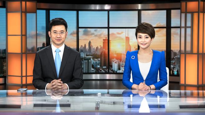 SMG-STV - Shanghai, China - News Sets Set Design - 6
