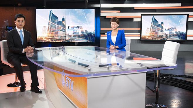 SMG-STV - Shanghai, China - News Sets Set Design - 7