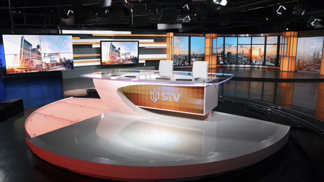 SMG-STV - Shanghai, China - News Sets Set Design - 8