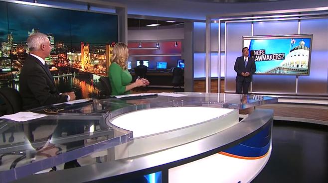 KOVR - Sacramento, CA - News Sets Set Design - 6