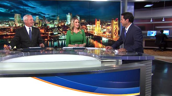 KOVR - Sacramento, CA - News Sets Set Design - 9