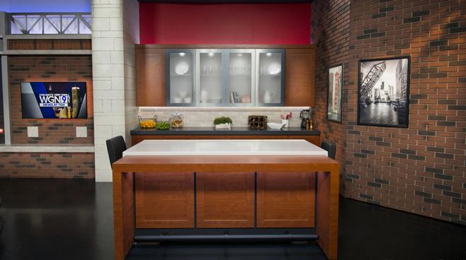 WGN - Chicago, IL - News Sets Set Design - 13