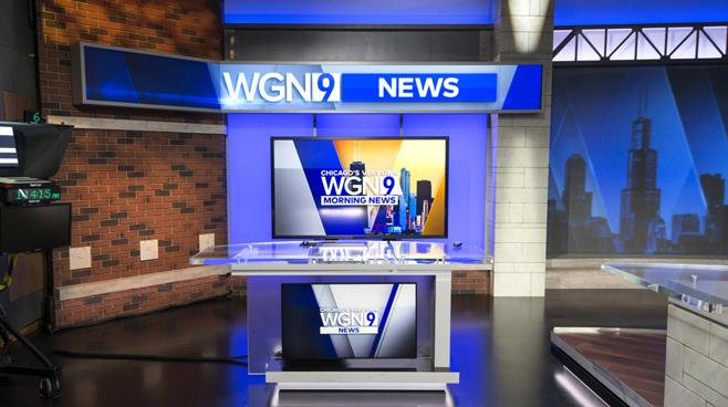 WGN - Chicago, IL - News Sets Set Design - 5