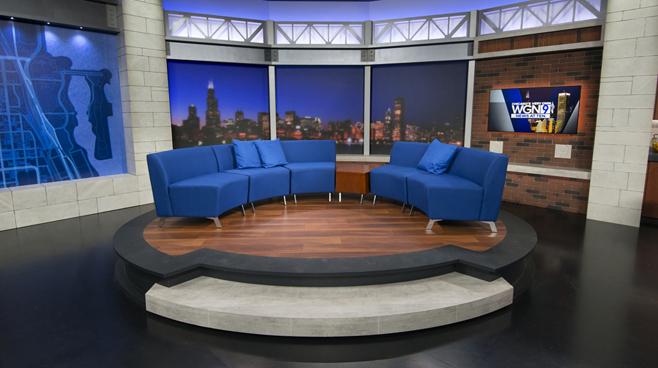 WGN - Chicago, IL - News Sets Set Design - 12