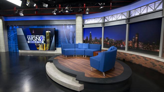 WGN - Chicago, IL - News Sets Set Design - 11