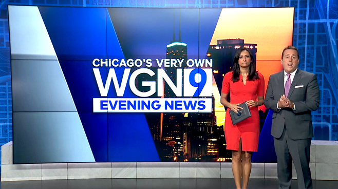 WGN - Chicago, IL - News Sets Set Design - 10