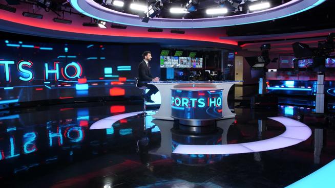 RT America / T&R Productions   - Washington, DC - News Sets Set Design - 1