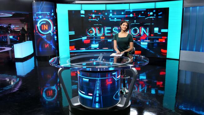 RT America / T&R Productions   - Washington, DC - News Sets Set Design - 9
