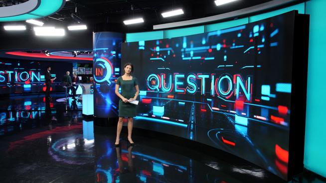RT America / T&R Productions   - Washington, DC - News Sets Set Design - 10