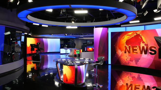 RT America / T&R Productions   - Washington, DC - News Sets Set Design - 11