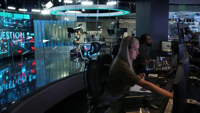 RT America / T&R Productions   - Washington, DC - News Sets Set Design - 12