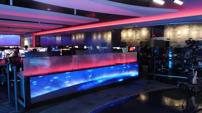 RT America / T&R Productions   - Washington, DC - News Sets Set Design - 13