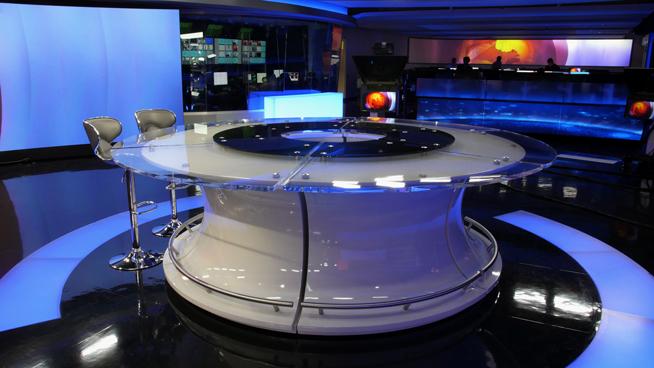 RT America / T&R Productions   - Washington, DC - News Sets Set Design - 15