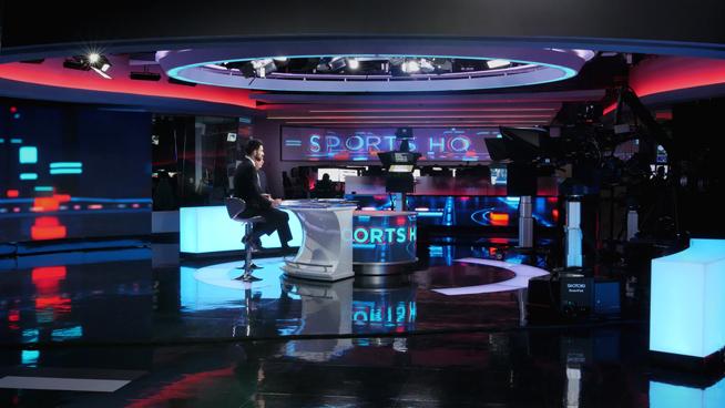 RT America / T&R Productions   - Washington, DC - News Sets Set Design - 2