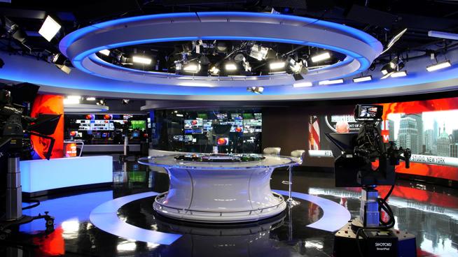 RT America / T&R Productions   - Washington, DC - News Sets Set Design - 3