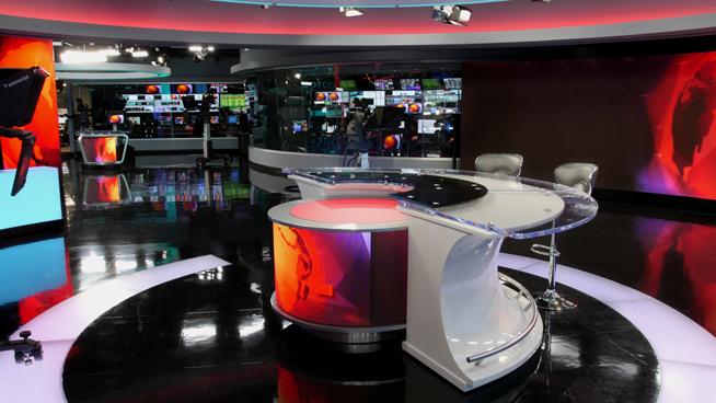 RT America / T&R Productions   - Washington, DC - News Sets Set Design - 4