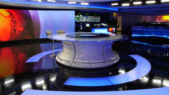 RT America / T&R Productions   - Washington, DC - News Sets Set Design - 6
