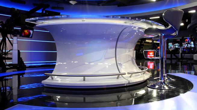 RT America / T&R Productions   - Washington, DC - News Sets Set Design - 7
