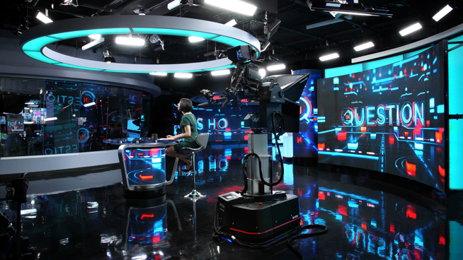 RT America / T&R Productions   - Washington, DC - News Sets Set Design - 8