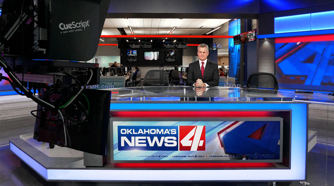 KFOR - Oklahoma City, OK - News Sets Set Design - 2