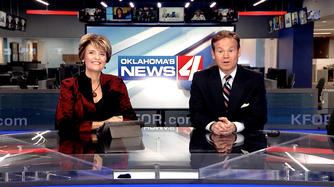 KFOR - Oklahoma City, OK - News Sets Set Design - 1