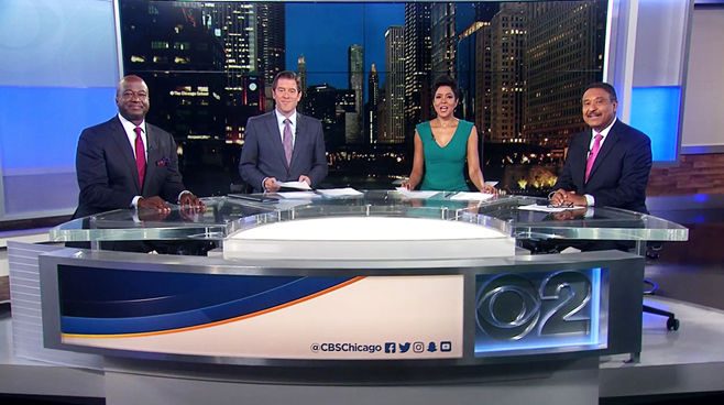 WBBM - Chicago, IL - News Sets Set Design - 1
