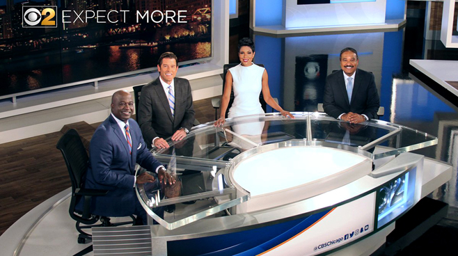 WBBM - Chicago, IL - News Sets Set Design - 12