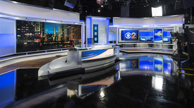 WBBM - Chicago, IL - News Sets Set Design - 7