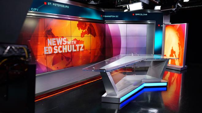 RT America / T&R Productions   - Washington, DC - News Sets Set Design - 17