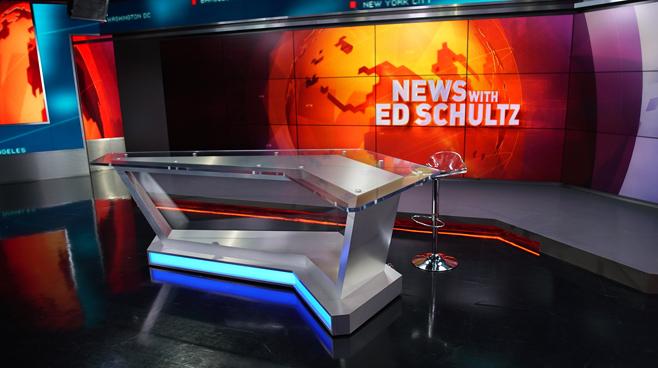 RT America / T&R Productions   - Washington, DC - News Sets Set Design - 18