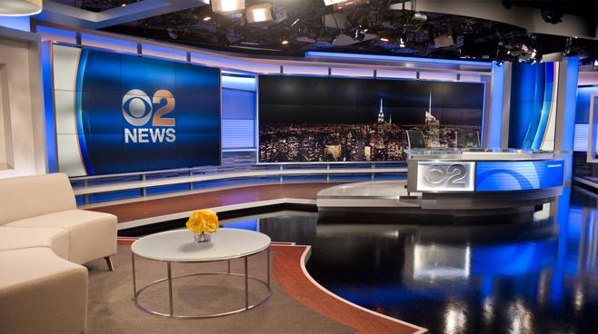 WCBS - New York, NY - News Sets Set Design - 5