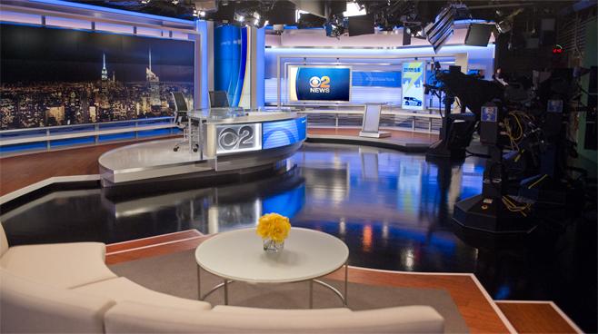 WCBS - New York, NY - News Sets Set Design - 6