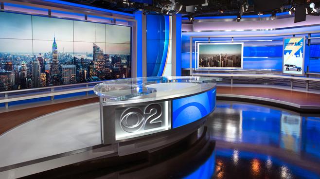 WCBS - New York, NY - News Sets Set Design - 1