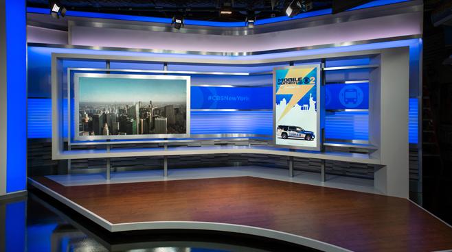 WCBS - New York, NY - News Sets Set Design - 10