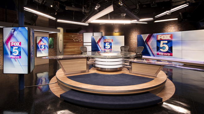 KSWB - San Diego, CA - News Sets Set Design - 2