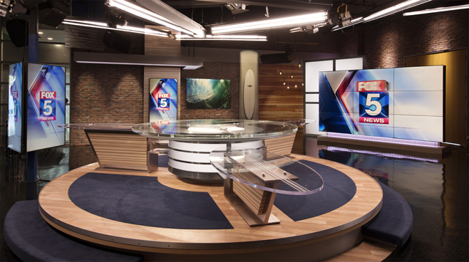 KSWB - San Diego, CA - News Sets Set Design - 4