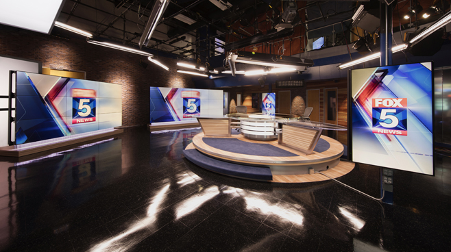 KSWB - San Diego, CA - News Sets Set Design - 6