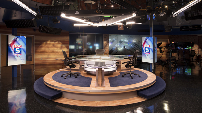 KSWB - San Diego, CA - News Sets Set Design - 7