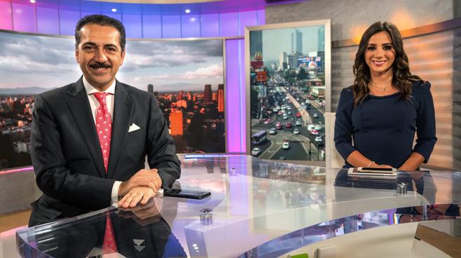 TV Azteca - Mexico City, Mexico - News Sets Set Design - 13