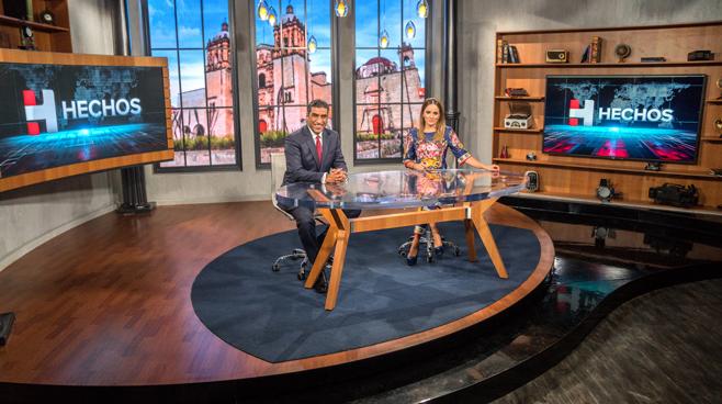 TV Azteca - Mexico City, Mexico - News Sets Set Design - 15